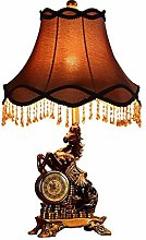 GJY Bedroom Living Room Light Retro Romantic Bed