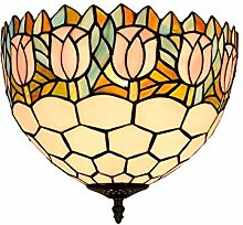 GJY Countryside Tulip Ceiling Lighting for Bedroom