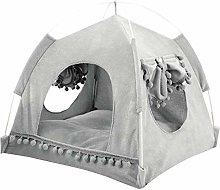 GJY Pets Portable Pet Bed Dog Cat Bed Cotton