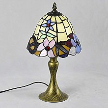 GJY Small Table Lamp Handmade Stained Glass