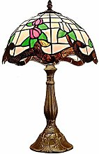 GJY Table Lamp Retro Creative Colorful Glass