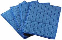 Glart 4 antibacterial dishcloths sponge pads