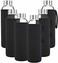 Glass Bottles - 6-Pack -18oz Juice & Beverage