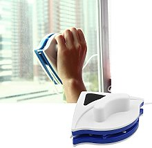 Glass Cleaning Brush - Double Side Glass Cleaner -