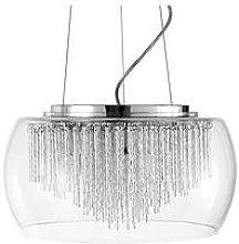 Glass Cloche Ceiling Light