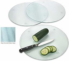 Glass Cutting Board - Frosted Tempered Glass, Non