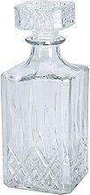 Glass Decanter Whiskey Sherry Brandy Liqueur