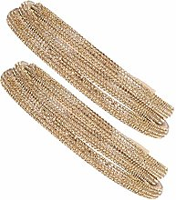 Glass Diamond Tube Rope Chain Clothing Accessories