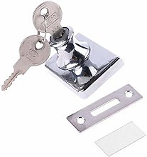 Glass Door Double Latch Lock Security Showcase