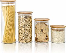 Glass Food Storage Containers with Lids by
