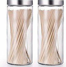 Glass jar Sealed jar, Large jar with lid for