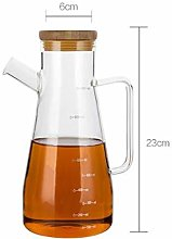 Glass Oil Bottle Oil Dispenser Vinegar Dispenser
