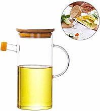 Glass Oil Pot 500ml Cooking Leak-Proof Container