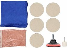 Glass Polishing Kit, Cerium Oxide Wool Polishing