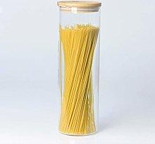 Glass Tall 1.75L Pasta Spaghetti Rice Food Storage
