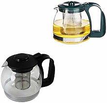 Glass Tea Pot Heat Resistant Clear Glass Teapot