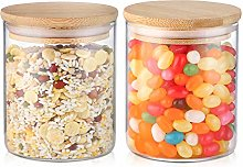Glasss Coffee and Sugar Canister Set - ZDZDZ