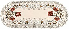 GLF Tablecloths Table Runner - Vintage Embroidered