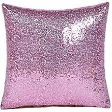 Glitter Mermaid Sequins Pillow Case Luxury Sofa