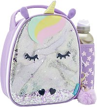 Glitter Unicorn Lunch Bag & Bottle - 500ml