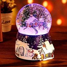 Glitterdomes Snow Globe Christmas Santa