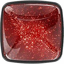 Glittering red [4 PCS]Decorative Cabinet Wardrobe