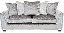 Glitz 3 Seater Fabric Scatter Back Sofa -