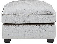 Glitz Fabric Footstool