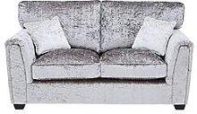 Glitz Fabric Standard Back 2 Seater Sofa