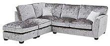 Glitz Fabric Standard Back Left Hand Corner Chaise