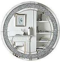 Glitz Round Wall Mirror