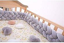 GLITZFAS 4 strands Baby Head Guard Cot Bed Crib