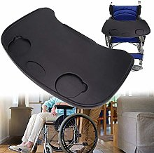 GLJY Wheelchair Tray, Anti-fall Plastic
