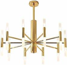 GLLSZ Modern Sputnik Chandelier 10 Lights