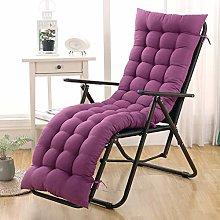 GLLSZ Patio Chaise Lounger Cushion,High Back Chair