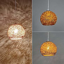 Global Ceiling Pendant Light Aluminum Macaron