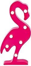 Global Gizmos Free Standing Marquee LED Pink
