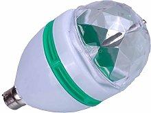 Global Gizmos Multicoloured Disco Light Bulb with