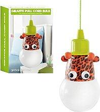 Global Gizmos Portable LED Giraffe Bulb On A Rope