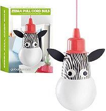 Global Gizmos Portable LED Zebra Bulb On A Rope -