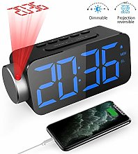 GlobaLink Projection Alarm Clock, Ceiling Digital