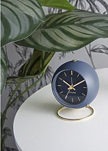 Globe Alarm Clock Karlsson Colour: Dark Blue