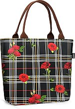 Gloppie Insulated Lunch Bag for Women Stylish Meal