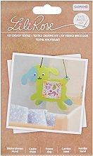Glorex 68619804Textile Polyester Craft Set,