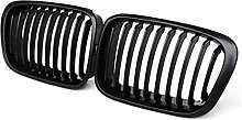Gloss Black Front Kidney Grille Slat Style Grill