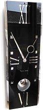 Gloss Modern Deco Vintage Pendulum Wall Clock