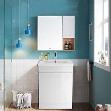 Gloss White Bathroom Vanity Sink Unit Basin