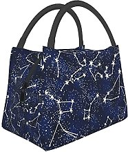 Glow in The Dark Midnight Lunch Bag Insulated