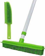 GLOYY Long Handled 150cm Push Broom with Soft