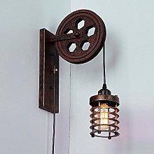 GLXLSBZ Wall Light Retro Industrial Style
